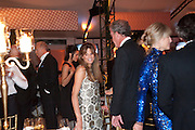 JEMIMA KHAN; JEREMY CLARKSON, Evgeny Lebedev and Graydon Carter hosted the Raisa Gorbachev charity Foundation Gala, Stud House, Hampton Court, London. 22 September 2011. <br /> <br />  , -DO NOT ARCHIVE-© Copyright Photograph by Dafydd Jones. 248 Clapham Rd. London SW9 0PZ. Tel 0207 820 0771. www.dafjones.com.