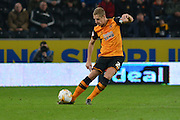 Hull City defender Michael Dawson during the Sky Bet Championship match between Hull City and Ipswich Town at the KC Stadium, Kingston upon Hull, England on 20 October 2015. Photo by Ian Lyall.