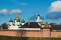 Russie, Souzdal (Suzdal), classé Patrimoine Mondial par UNESCO, ancien centre culturel et religieux faisant partie de l'Anneau d'Or, Monastere du Sauveur Saint Euthyme // Russia, Rossiya, Vladimir Oblast, Golden Ring, Suzdal, Unesco world heritage, Savior Monastery of St. Euthymius