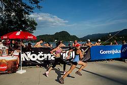 Ozarin tek at 10th Nocna 10ka 2016, traditional run around Bled's lake, on July 09, 2016 in Bled,  Slovenia. Photo by Vid Ponikvar / Sportida