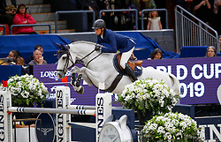 Fuchs Martin, SUI, Clooney 51<br /> Final Round 2<br /> Longines FEI World Cup Finals Jumping Gothenburg 2019