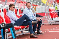 NOVI SAD - 18-08-2016, Vojvodina - AZ, Karadjordje Stadion, \a101, AZ trainer John van den Brom.