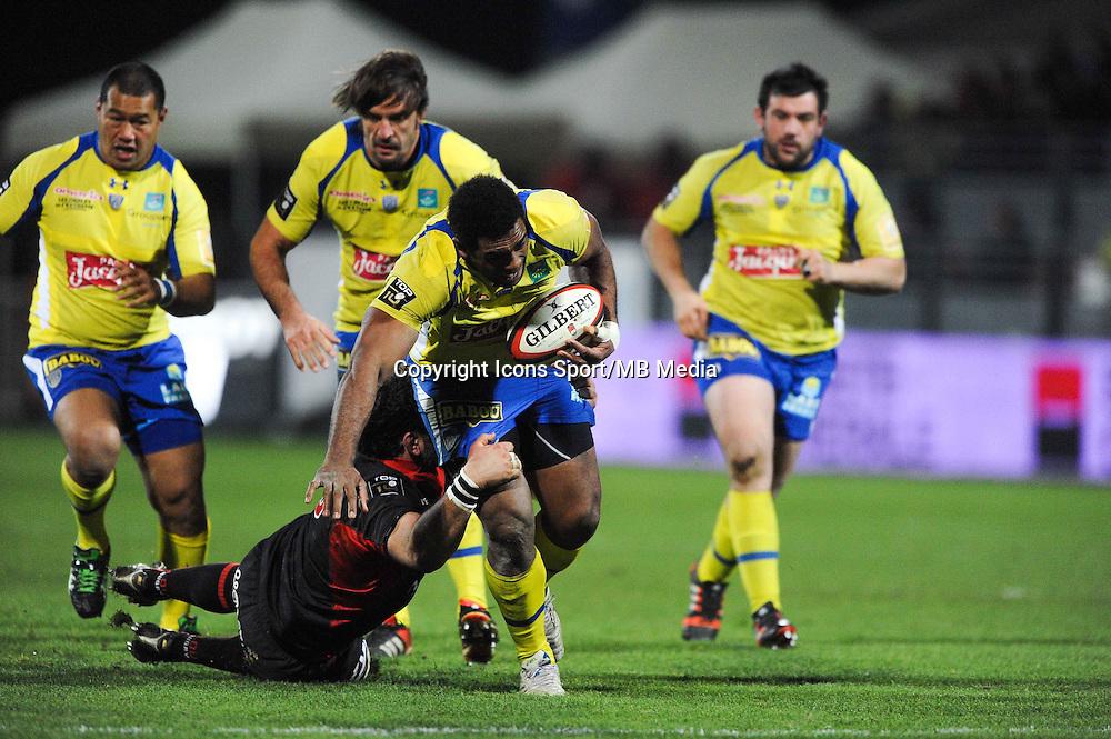 Naipolioni Nalaga - 28.12.2014 - Lyon Olympique / Clermont - 14eme journee de Top 14 <br />Photo : Jean Paul Thomas / Icon Sport