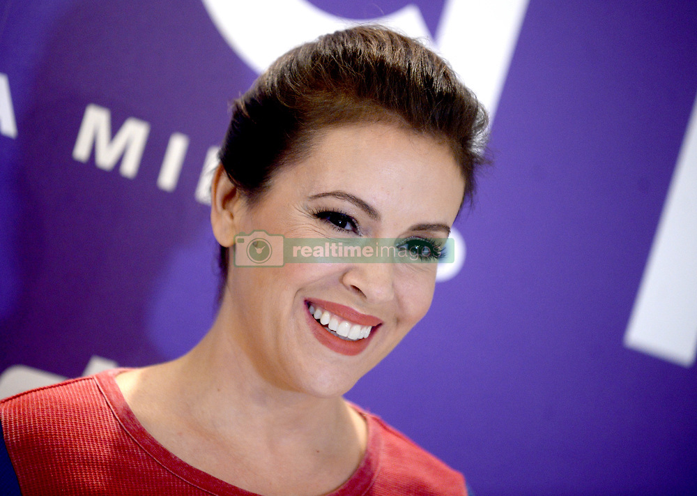 Alyssa Milano at in-store appearance for Touch by Alyssa Milano Fall Collection Launch, Macy's Herald Square Department Store, New York City, NY, USA, August 23, 2017. Photo by Dennis Van Tine/ABACAPRESS.COM