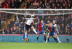 Fulham's Dimitar Berbatov scores his sides third goal - Photo mandatory by-line: Robin White/JMP - Tel: Mobile: 07966 386802 21/10/2013 - SPORT - FOOTBALL - Selhurst Park - London - Crystal Palace V Fulham - Barclays Premier League
