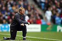 Photo: Paul Thomas.<br /> Manchester City v Newcastle United. The Barclays Premiership. 11/11/2006.<br /> <br /> Stuart Pearce, Man City manager.