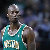 09 March 2012: Boston Celtics power forward Kevin Garnett (5) during the Boston Celtics 104-86 victory over the Portland Trail Blazers at the TD Banknorth Garden, Boston, Massachusetts, USA.