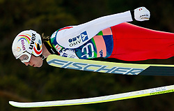 ZAUNER David of Austria during Flying Hill Individual competition at 2nd day of FIS Ski Jumping World Cup Finals Planica 2012, on March 16, 2012, Planica, Slovenia. (Photo by Vid Ponikvar / Sportida.com)