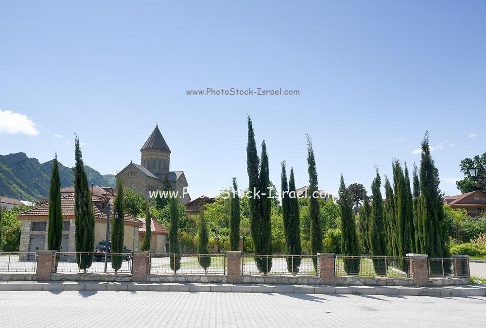 Georgia, Mtskheta, Sveti-Tskhoveli Cathedral