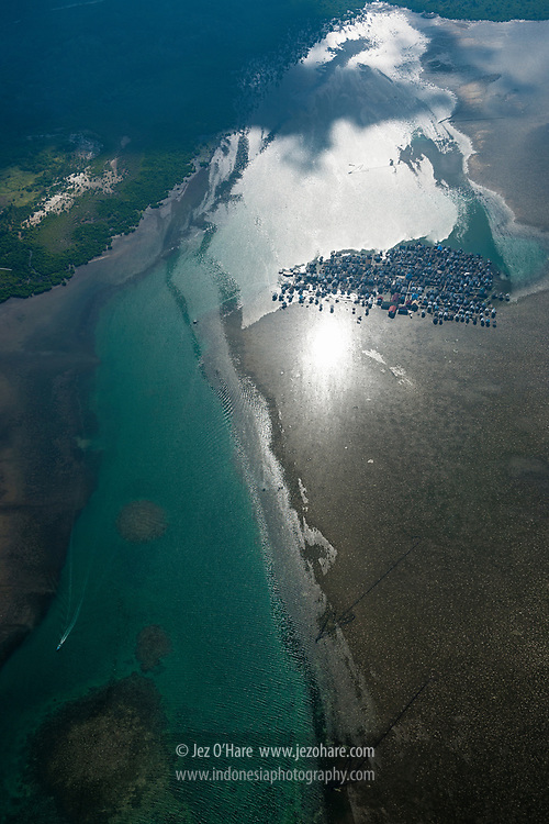 Sampela Bajau village, Kaledupa island, Wakatobi National Park, Tukang Besi islands, South East Sulawesi, Indonesia
