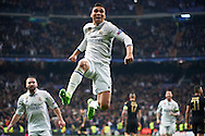 Caserino (midfielder; Real Madrid) during the UEFA Champions League, round of 8 match between Real Madrid and SSC Napoli at Santiago Bernabeu on February 15, 2017 in Madrid