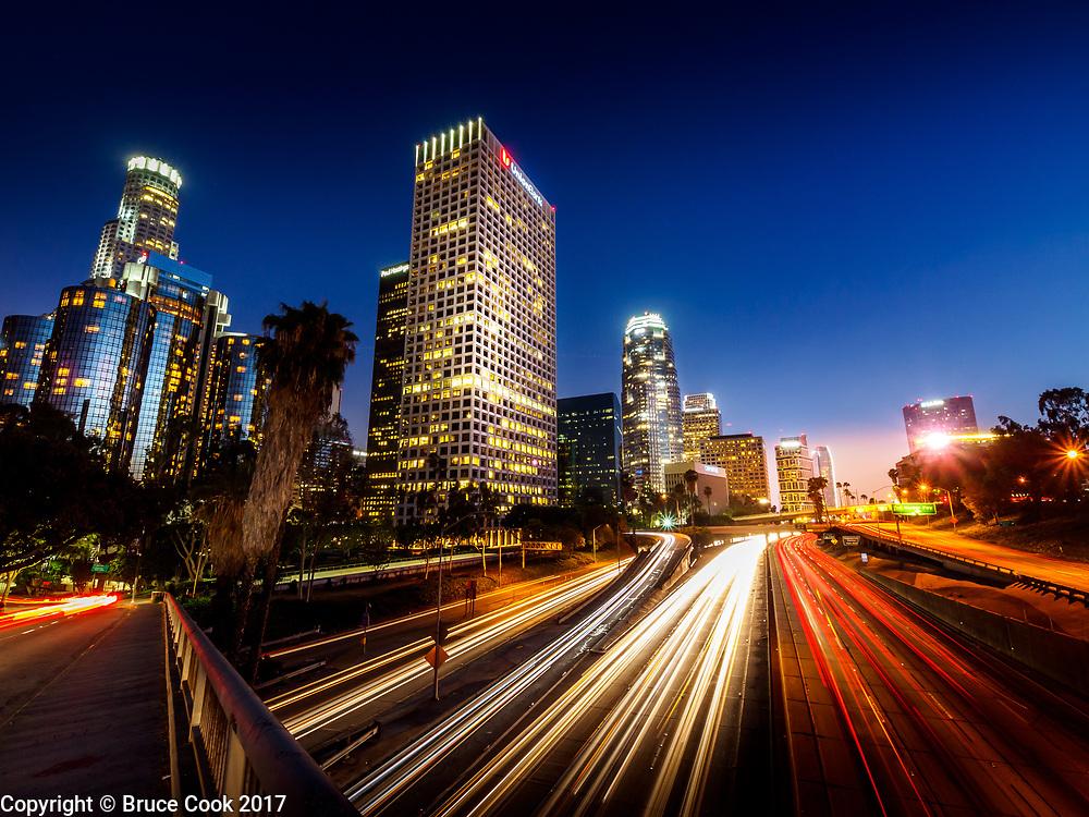 LA in Blue