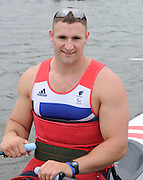 Henley, Great Britain.  Paralympic GB Team Announcement. ASM1X, Tom AGGAR. Henley Royal Regatta. River Thames Henley Reach.  Royal Regatta. River Thames Henley Reach.  Wednesday  27/06/2012  [Mandatory Credit  Karon Phillips/ Intersport Images] . HRR.