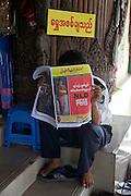 Au lendemain des élections du 1 avril 2012 au Myanmar (Birmanie).