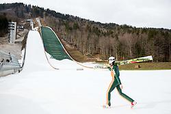 Training of Slovenian Ski jumping team, on December 23, 2014 in Planica, Slovenia. Photo by Vid Ponikvar / Sportida