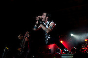 Three Days Grace performing at Rock the Resort at Clay's Park Resort in North Lawrence, Ohio on July 9, 2011