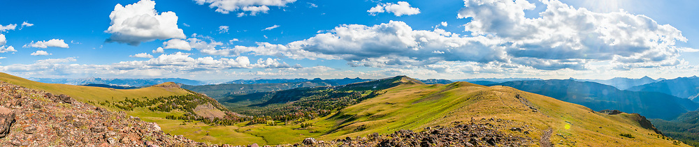 High up on the Gallatin Crest in Montana.  Limited Edition - 75