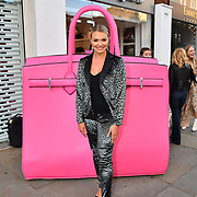 Haley Gray arrive at the Handbag Clinic - relaunch at 382 King's Road on 4 September 2019, London, UK.