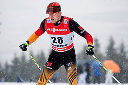 Jens Filbrich of Germany during man 9 km pursue race at the cross country Tour de Ski 2014 of the FIS cross country World cup competition on January 5th, 2014 in Alpe Cermis, Val di Fiemme, Italy. (Photo by Urban Urbanc / Sportida)