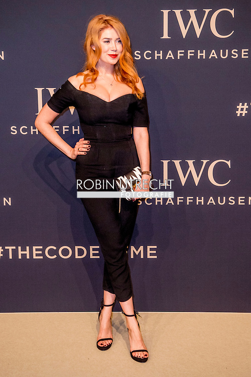 17-1-217 -GENEVE GENEVA SWITSERLAND SWISS ZWITSERLAND -  SIHH 2017  IWC gala event «Decoding the Beauty of Time» COPYRIGHT ROBIN UTRECHT
