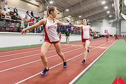 Boston University Multi-team indoor track & field meet, womens relay