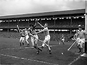 06/05/1956<br /> 05/06/1956<br /> 6 May 1956<br /> National Hurling League Final: Kerry v Antrim at Croke Park.