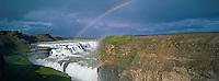 Islande, Chutes de Gullfoss // Iceland, Gullfoss waterfall