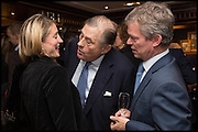 FLORA MONTGOMERY-JESEN; DAVID KER; SOREN JESEN, Ralph Lauren host launch party for Nicky Haslam's book ' A Designer's Life' published by Jacqui Small. Ralph Lauren, 1 Bond St. London. 19 November 2014