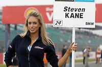 2008 British Touring Car Championship.Silverstone, Northamptonshire, United Kingdom.  30th-31st August 2008..Motorbase Performance Grid Girl.World Copyright: Peter Taylor/PSP