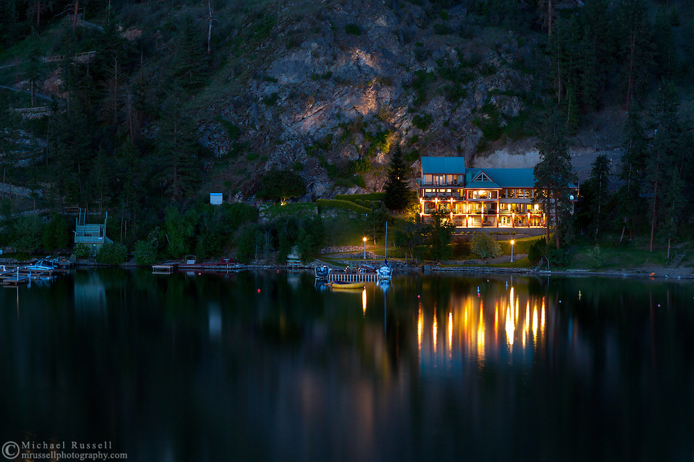 The Illahee Inn on Kalamalka Lake in Vernon, British Columbia, Canada