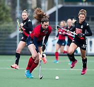 AMSTELVEEN - Hockey - Hoofdklasse competitie dames. AMSTERDAM-LAREN (2-0)  . Lisa Gerritsen (Laren)   COPYRIGHT KOEN SUYK