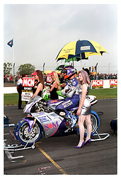SEAN EMMETT TEAM GSE DUCATI, British Superbike Championship Donington 28th September 1997