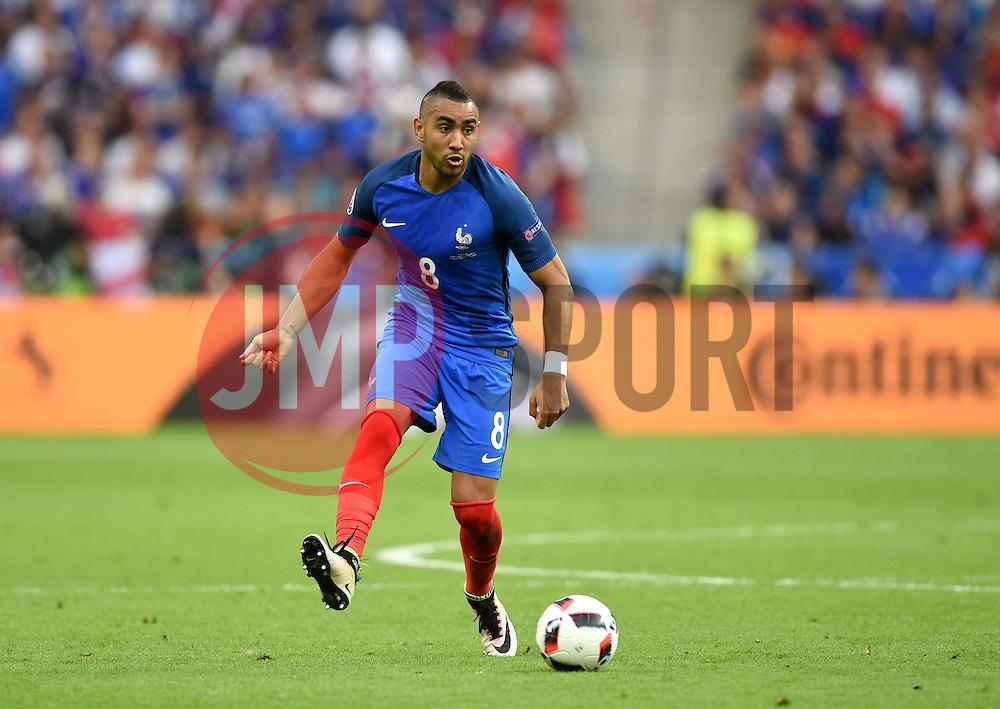 Dimitri Payet of France  - Mandatory by-line: Joe Meredith/JMP - 10/07/2016 - FOOTBALL - Stade de France - Saint-Denis, France - Portugal v France - UEFA European Championship Final
