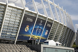 May 25, 2018 - Kiev, Ukraine - NSC Olimpiyskiy stadium prior the final of the UEFA Champions League in Kiev, Ukraine, 26 May 2018. Real Madrid will face Liverpool FC in the UEFA Champions League final at the NSC Olimpiyskiy stadium on 26 May 2018. (Credit Image: © Oleg Pereverzev/NurPhoto via ZUMA Press)