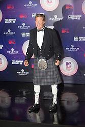 David Hasselhoff.<br /> Red carpet at the MTV EMA, Glasgow.