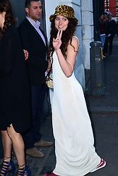 Eliza Doolittle attends David Beckham first H&M swimwear collection launch party ahead of its release into shops on May 22, at Shoreditch House,  London, United Kingdom. Wednesday, 14th May 2014. Picture by Nils Jorgensen / i-Images