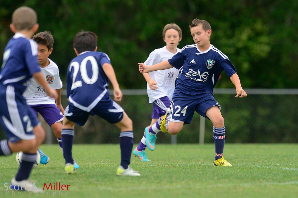 VSI U12 boys vs. OCYS in CDL at Seminole Soccer Complex in Sanford, Florida April 20, 2013. .©2013 Scott A. Miller