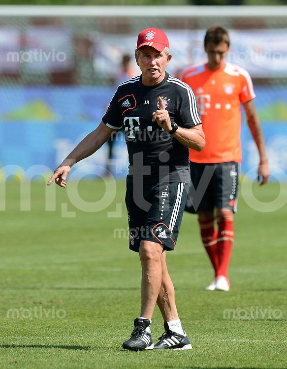 Fussball 1. Bundesliga:  Saison  Vorbereitung 2012/2013     Trainingslager des FC Bayern Muenchen 19.07.2012 Trainer Jupp Heynckes (FC Bayern Muenchen)