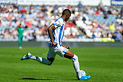 Huddersfield Town Adama Diakhaby during the EFL Sky Bet Championship match between Huddersfield Town and Reading at the John Smiths Stadium, Huddersfield, England on 24 August 2019.