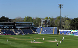 General view of the Swalec Stadium. - Photo mandatory by-line: Harry Trump/JMP - Mobile: 07966 386802 - 22/04/15 - SPORT - CRICKET - LVCC County Championship - Division 2 - Day 4 - Glamorgan v Surrey - Swalec Stadium, Cardiff, Wales.