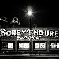 Adore and Endure, Shoreditch, London, uk