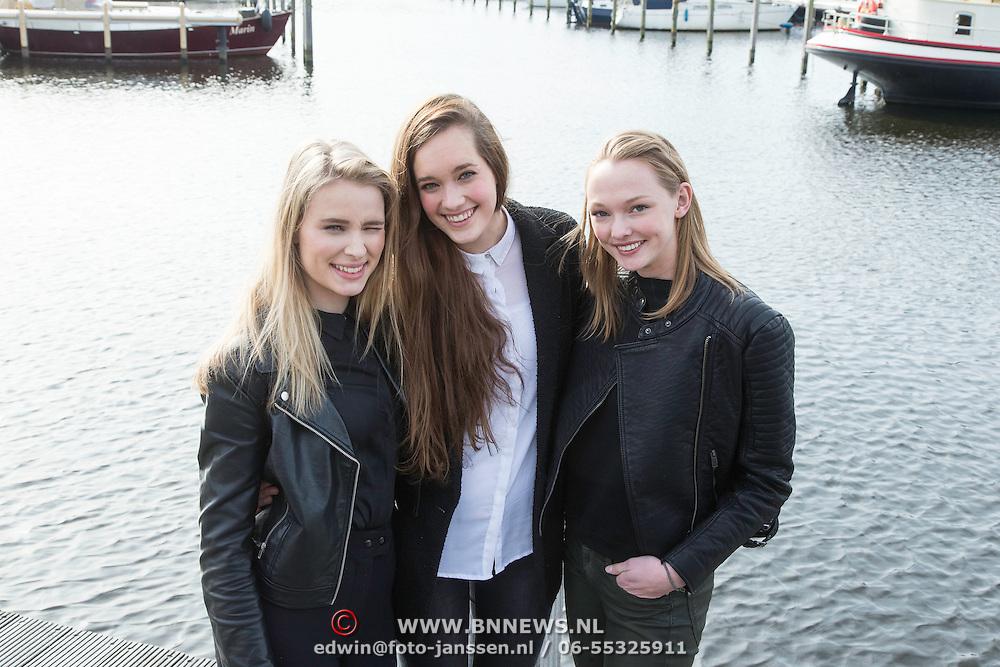 NLD/Huizen/20140324 - I Can Make You A Supermodel, Stanneke van Geel, Julia van Emmerik en Sanne Boldwijn