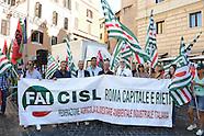 20160719 - Sit-in dei sindacati contro caporalato