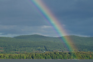 Newburgh waterfront rainbow