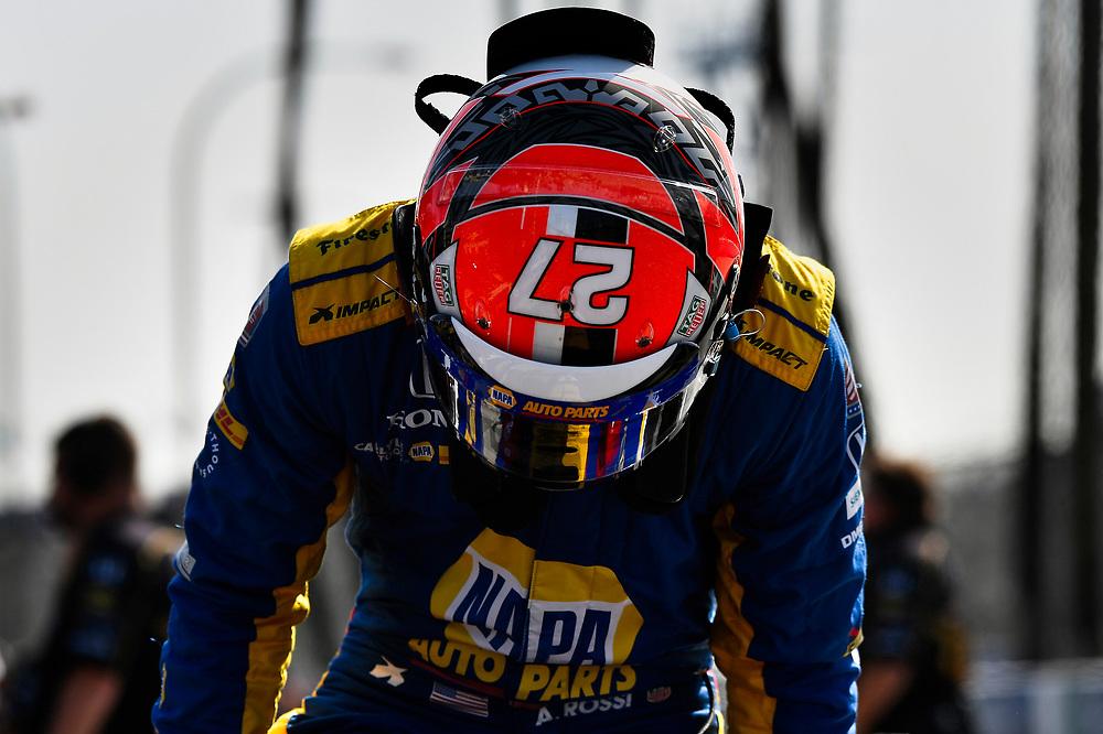 Alexander Rossi, Andretti Autosport Honda<br /> Friday 13 April 2018<br /> Toyota Grand Prix of Long Beach<br /> Verizon IndyCar Series<br /> Streets of Long Beach, California USA<br /> World Copyright: Scott R LePage<br /> LAT Images