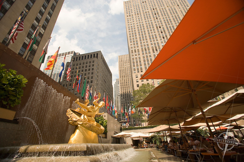 Prometheus at Rockefeller Center, New York, NY