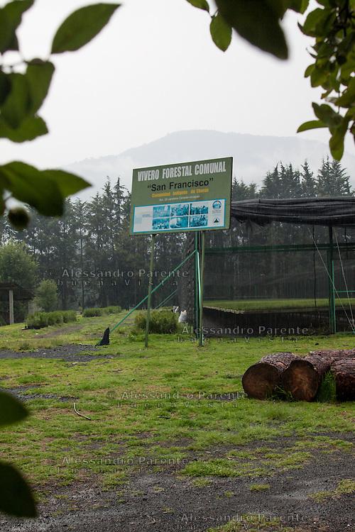 Il vivaio forestale, nato in seguito all'ottenuta autonomia del paese, ha lo scopo di riforestare.