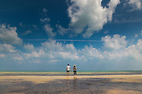 Stop off at road side beach in Islamorada, Florida. Photo © Robert Zaleski / rzcreative.com