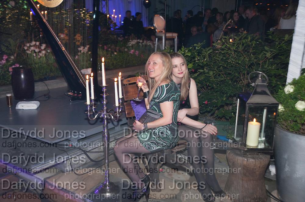 COURTNEY BLACKMAN; DAISY DE VILLENEUVE, An evening at Sanderson to celebrate 10 years of Sanderson, in aid of Clic Sargent. Sanderson Hotel. 50 Berners St. London. W1. 27 April 2010 *** Local Caption *** -DO NOT ARCHIVE-&copy; Copyright Photograph by Dafydd Jones. 248 Clapham Rd. London SW9 0PZ. Tel 0207 820 0771. www.dafjones.com.<br /> COURTNEY BLACKMAN; DAISY DE VILLENEUVE, An evening at Sanderson to celebrate 10 years of Sanderson, in aid of Clic Sargent. Sanderson Hotel. 50 Berners St. London. W1. 27 April 2010
