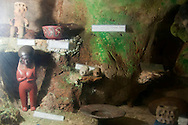 The Baracoa Archaeological Museum in Cueva del Paraiso, Guantanamo, Cuba.